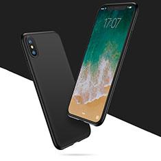 Coque Ultra Fine Silicone Souple C01 pour Apple iPhone X Noir