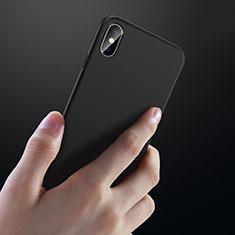 Coque Ultra Fine Silicone Souple C02 pour Apple iPhone X Noir