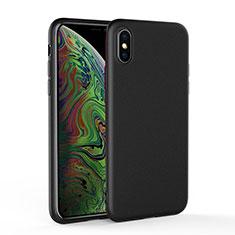 Coque Ultra Fine Silicone Souple C03 pour Apple iPhone Xs Noir