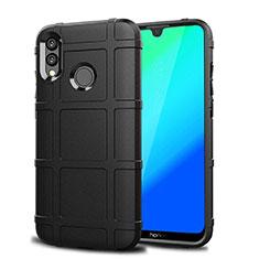 Coque Ultra Fine Silicone Souple Housse Etui 360 Degres Avant et Arriere pour Huawei P Smart (2019) Noir