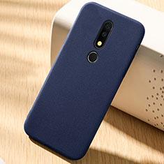 Coque Ultra Fine Silicone Souple Housse Etui 360 Degres Avant et Arriere pour Nokia X6 Bleu