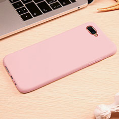 Coque Ultra Fine Silicone Souple Housse Etui A01 pour Oppo R15X Rose