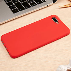 Coque Ultra Fine Silicone Souple Housse Etui A01 pour Oppo R17 Neo Rouge