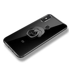 Coque Ultra Fine Silicone Souple Housse Etui avec Support Bague Anneau pour Xiaomi Mi 8 SE Clair