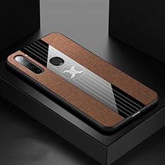 Coque Ultra Fine Silicone Souple Housse Etui C01 pour Xiaomi Redmi Note 8 Marron