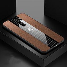 Coque Ultra Fine Silicone Souple Housse Etui C01 pour Xiaomi Redmi Note 8 Pro Marron