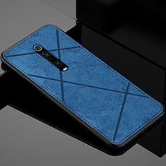 Coque Ultra Fine Silicone Souple Housse Etui C03 pour Xiaomi Mi 9T Pro Bleu