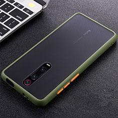 Coque Ultra Fine Silicone Souple Housse Etui C05 pour Xiaomi Mi 9T Pro Vert