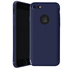 Coque Ultra Fine Silicone Souple Housse Etui H01 pour Apple iPhone 8 Bleu