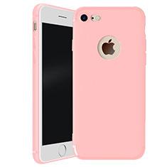 Coque Ultra Fine Silicone Souple Housse Etui H01 pour Apple iPhone 8 Rose