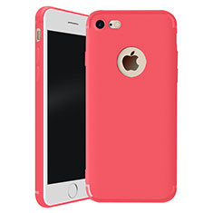 Coque Ultra Fine Silicone Souple Housse Etui H01 pour Apple iPhone 8 Rouge