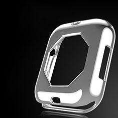 Coque Ultra Fine Silicone Souple Housse Etui S01 pour Apple iWatch 4 40mm Clair
