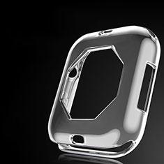 Coque Ultra Fine Silicone Souple Housse Etui S01 pour Apple iWatch 4 40mm Gris