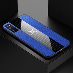 Coque Ultra Fine Silicone Souple Housse Etui S01 pour Huawei Enjoy 20 Pro 5G Bleu