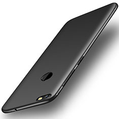 Coque Ultra Fine Silicone Souple Housse Etui S01 pour Huawei Enjoy 7 Noir