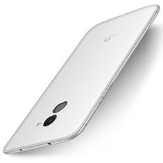 Coque Ultra Fine Silicone Souple Housse Etui S01 pour Huawei Enjoy 7 Plus Blanc