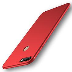 Coque Ultra Fine Silicone Souple Housse Etui S01 pour Huawei Enjoy 8 Rouge