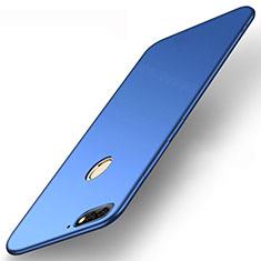 Coque Ultra Fine Silicone Souple Housse Etui S01 pour Huawei Enjoy 8e Bleu