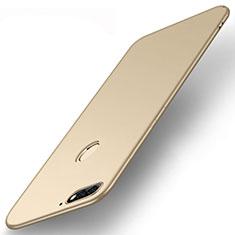 Coque Ultra Fine Silicone Souple Housse Etui S01 pour Huawei Enjoy 8e Or