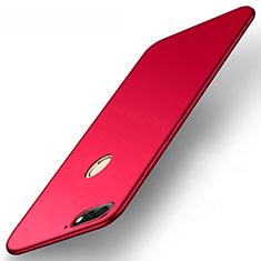 Coque Ultra Fine Silicone Souple Housse Etui S01 pour Huawei Enjoy 8e Rouge