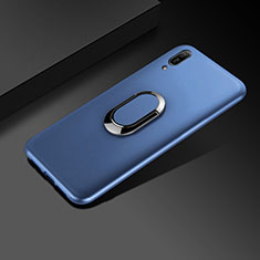 Coque Ultra Fine Silicone Souple Housse Etui S01 pour Huawei Enjoy 9e Bleu