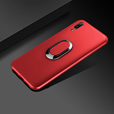Coque Ultra Fine Silicone Souple Housse Etui S01 pour Huawei Enjoy 9e Rouge