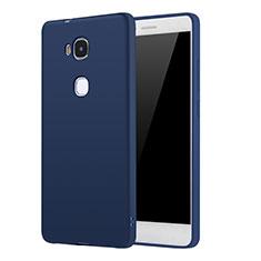 Coque Ultra Fine Silicone Souple Housse Etui S01 pour Huawei GR5 Bleu