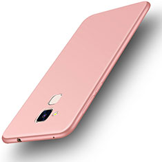 Coque Ultra Fine Silicone Souple Housse Etui S01 pour Huawei GR5 Mini Or Rose