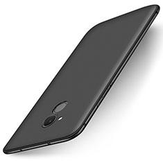 Coque Ultra Fine Silicone Souple Housse Etui S01 pour Huawei Honor 6C Noir