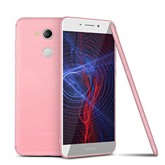 Coque Ultra Fine Silicone Souple Housse Etui S01 pour Huawei Honor 6C Pro Rose