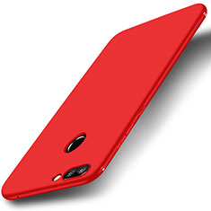 Coque Ultra Fine Silicone Souple Housse Etui S01 pour Huawei Honor 9i Rouge