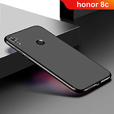 Coque Ultra Fine Silicone Souple Housse Etui S01 pour Huawei Honor Play 8C Noir