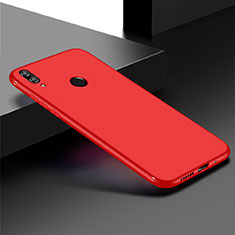 Coque Ultra Fine Silicone Souple Housse Etui S01 pour Huawei Honor Play 8C Rouge