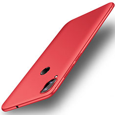Coque Ultra Fine Silicone Souple Housse Etui S01 pour Huawei Honor Play Rouge
