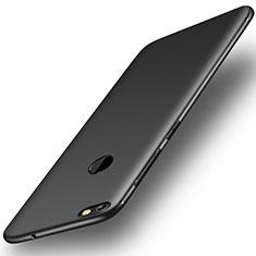 Coque Ultra Fine Silicone Souple Housse Etui S01 pour Huawei P9 Lite Mini Noir