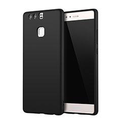 Coque Ultra Fine Silicone Souple Housse Etui S01 pour Huawei P9 Plus Noir