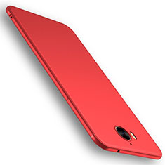 Coque Ultra Fine Silicone Souple Housse Etui S01 pour Huawei Y5 (2017) Rouge