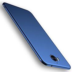 Coque Ultra Fine Silicone Souple Housse Etui S01 pour Huawei Y6 (2017) Bleu