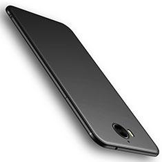 Coque Ultra Fine Silicone Souple Housse Etui S01 pour Huawei Y6 (2017) Noir