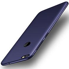 Coque Ultra Fine Silicone Souple Housse Etui S01 pour Huawei Y6 Pro (2017) Bleu