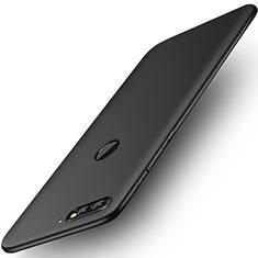 Coque Ultra Fine Silicone Souple Housse Etui S01 pour Huawei Y7 (2018) Noir