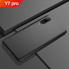Coque Ultra Fine Silicone Souple Housse Etui S01 pour Huawei Y7 (2019) Noir