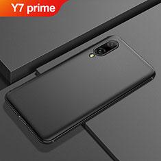Coque Ultra Fine Silicone Souple Housse Etui S01 pour Huawei Y7 Prime (2019) Noir