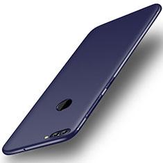 Coque Ultra Fine Silicone Souple Housse Etui S01 pour Huawei Y9 (2018) Bleu