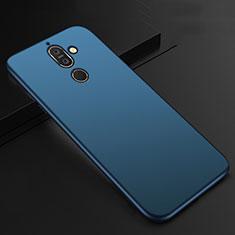 Coque Ultra Fine Silicone Souple Housse Etui S01 pour Nokia 7 Plus Bleu