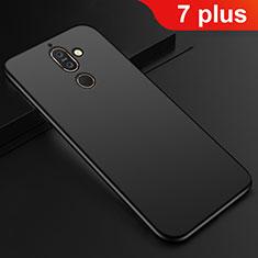 Coque Ultra Fine Silicone Souple Housse Etui S01 pour Nokia 7 Plus Noir