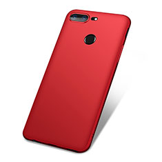 Coque Ultra Fine Silicone Souple Housse Etui S01 pour OnePlus 5T A5010 Rouge