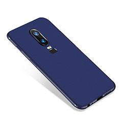 Coque Ultra Fine Silicone Souple Housse Etui S01 pour OnePlus 6 Bleu