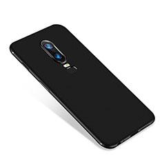 Coque Ultra Fine Silicone Souple Housse Etui S01 pour OnePlus 6 Noir