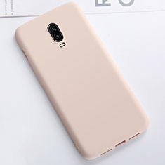 Coque Ultra Fine Silicone Souple Housse Etui S01 pour OnePlus 6T Or